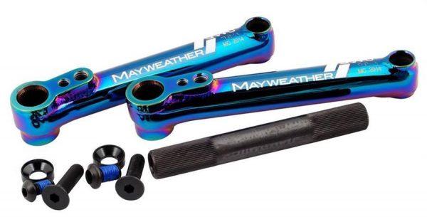 Snafu Mayweather Cranks – 170mm – Jet Fuel
