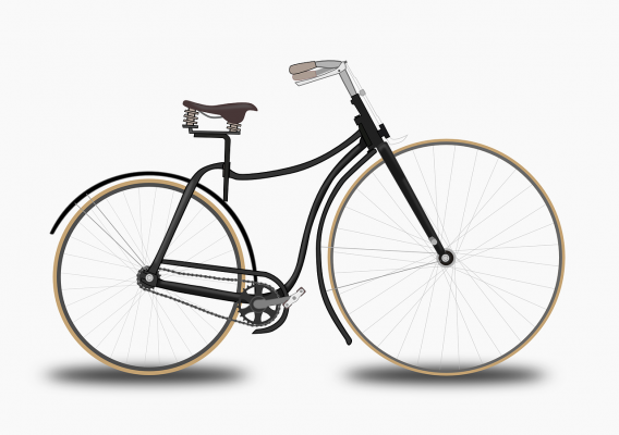 Complete bicycle