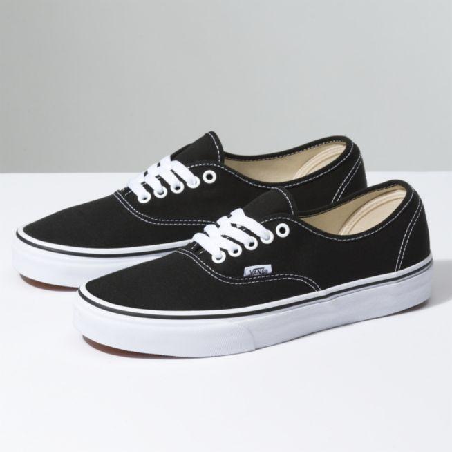 1a7f7816 Vans Authentic Shoes - Black - Size 9