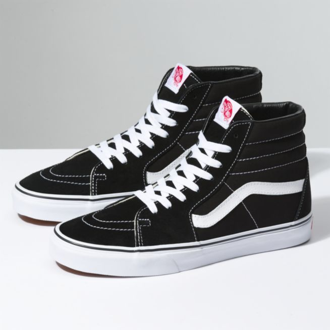 bda8f17157 Vans SK8 - Hi Shoes - Black   White - Size 9 - Sams BMX