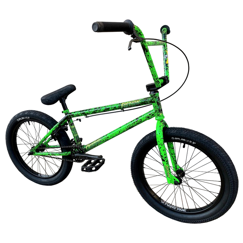 "Stolen Brand Fiction BMX Monkey Bars 9.50/"" Toxic Green"
