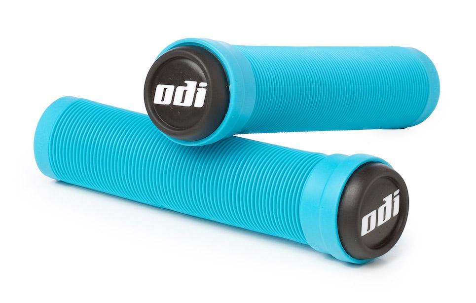 ODI Longneck Grips Soft Compound Flangeless Light Blue