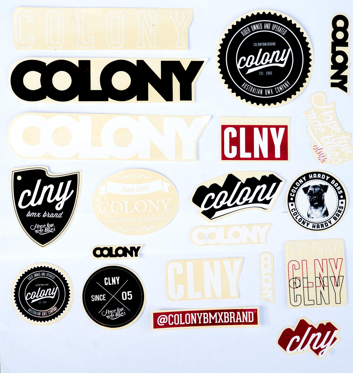 Onyx Bmx Sticker Set